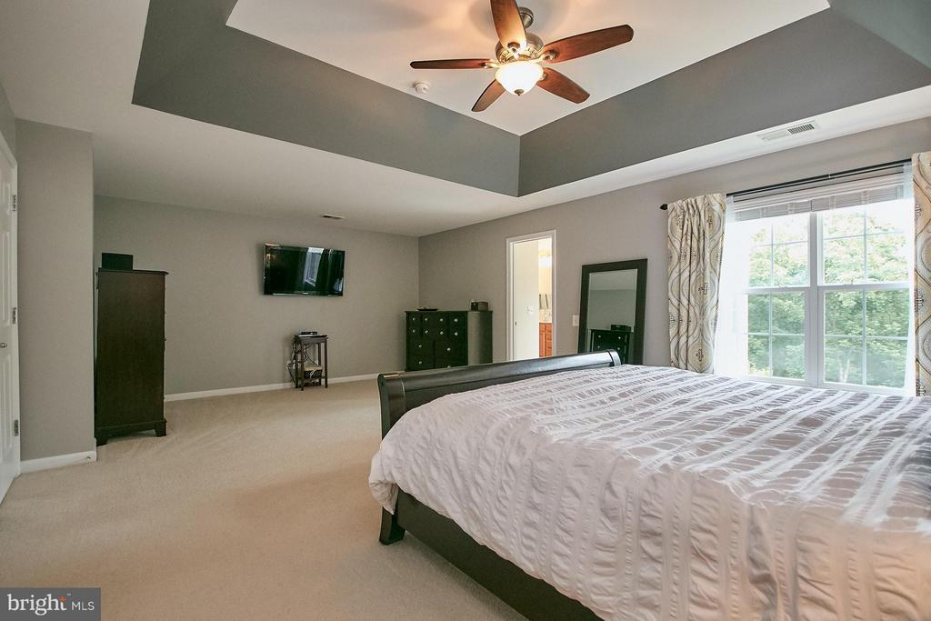 Master Bedroom has a Large Sitting Area - 42684 KEILLER TER, ASHBURN