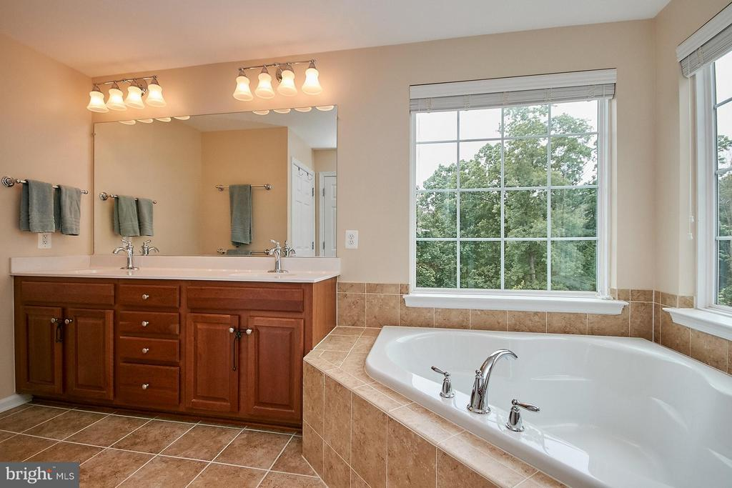 Master Bath has Double Vanity - 42684 KEILLER TER, ASHBURN