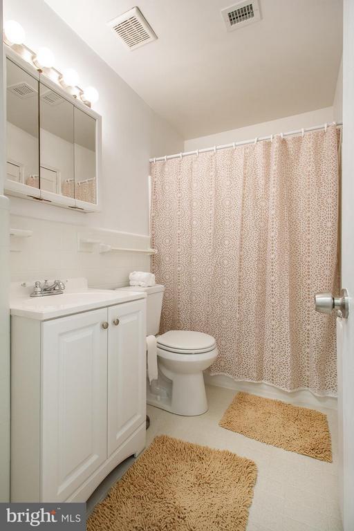 Newly renovated bathroom - 10025 MOSBY WOODS DR #318, FAIRFAX