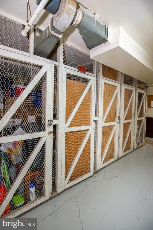 Storage Unit conveys - 10025 MOSBY WOODS DR #318, FAIRFAX