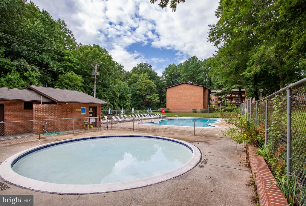Swimming Pool & Baby Pool - 10025 MOSBY WOODS DR #318, FAIRFAX