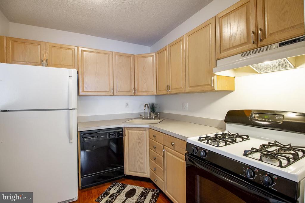 Kitchen - 10025 MOSBY WOODS DR #318, FAIRFAX