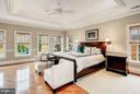 Impressive Master Suite with Gas Fireplace - 2323 N RIDGEVIEW RD, ARLINGTON