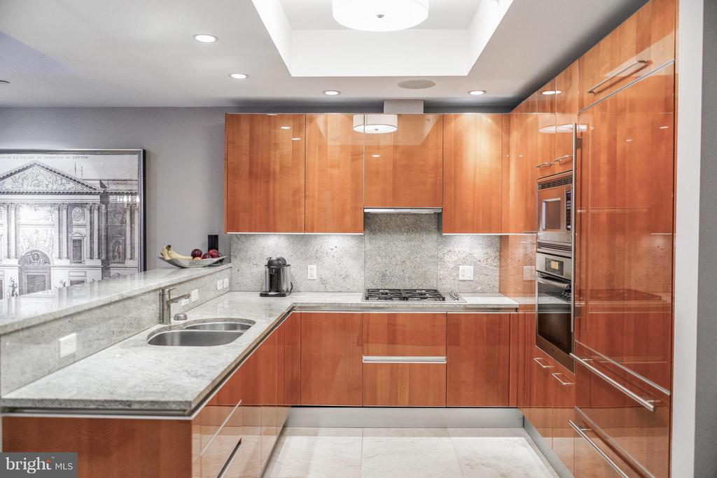 Gourmet kitchen with European Appliances - 1881 NASH ST #404, ARLINGTON