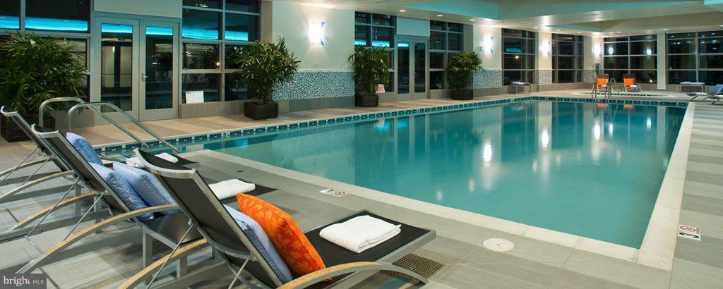 evening at the Pool! - 1881 NASH ST #1606, ARLINGTON