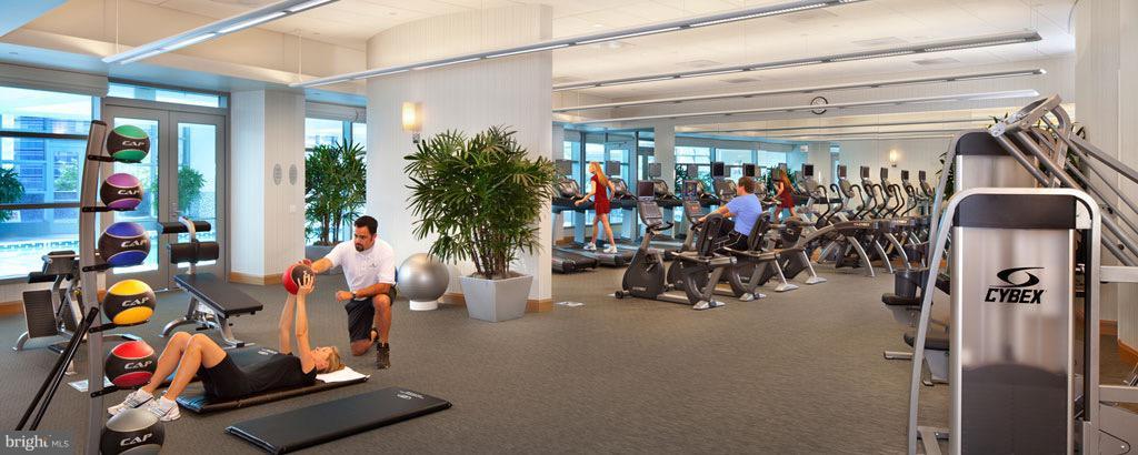 Health & Fitness Center with Yoga Room - 1881 NASH ST #1606, ARLINGTON