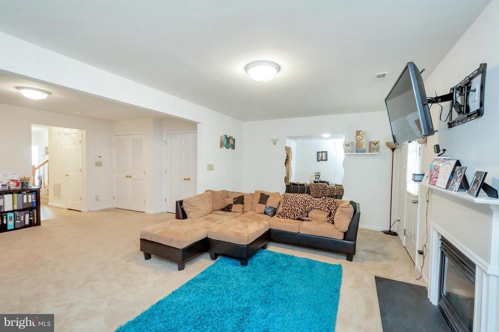 Family Room - 11414 WYTHEVILLE CT, FREDERICKSBURG