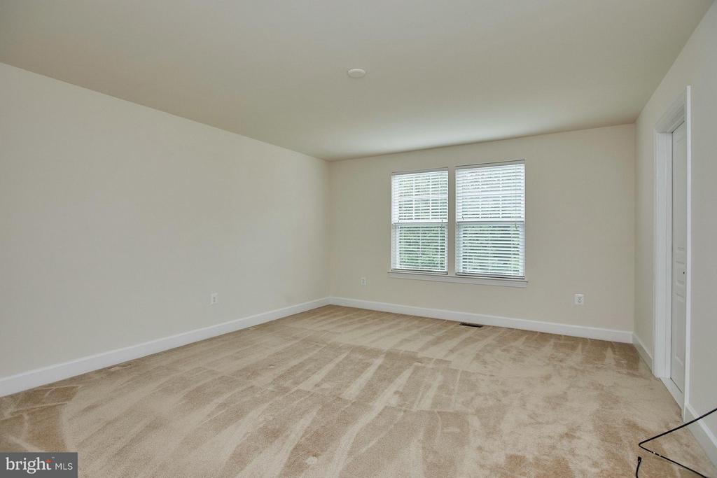 Spacious Master Suite has prewire for ceiling fan - 16636 DANRIDGE MANOR DR, WOODBRIDGE