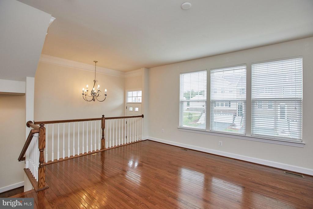 Living Room with abundance of windows - 16636 DANRIDGE MANOR DR, WOODBRIDGE
