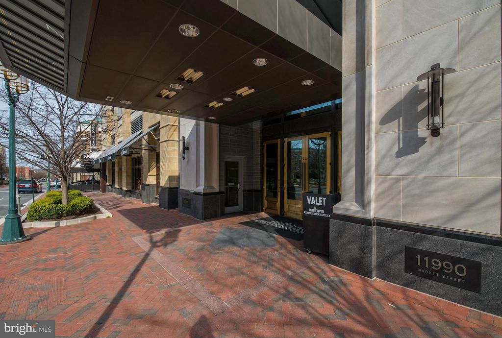 Front Entrance of Building - 11990 MARKET ST #1714, RESTON