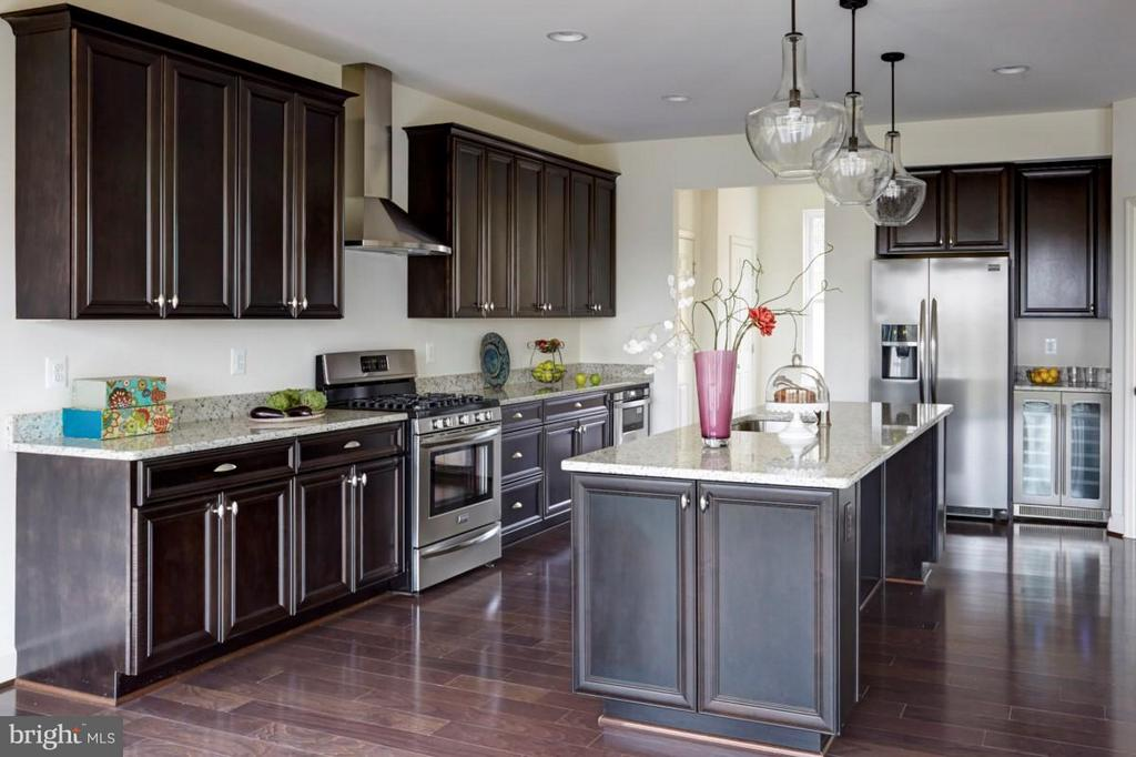 example of optional kitchen - 317 BONHEUR AVE, GAMBRILLS
