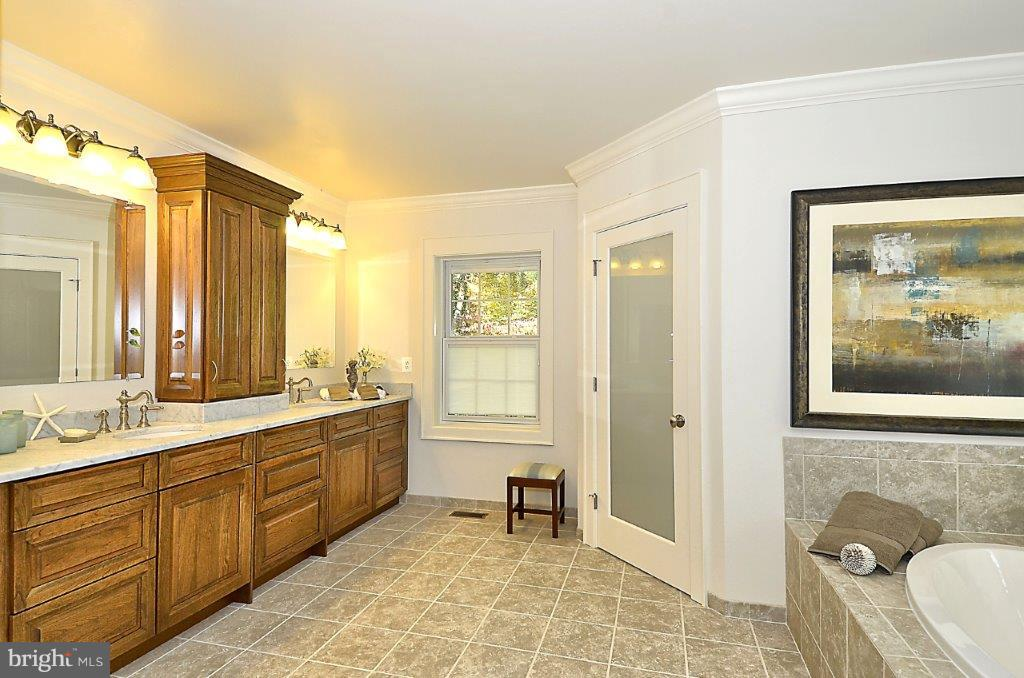 Example of optional bathroom - 317 BONHEUR AVE, GAMBRILLS