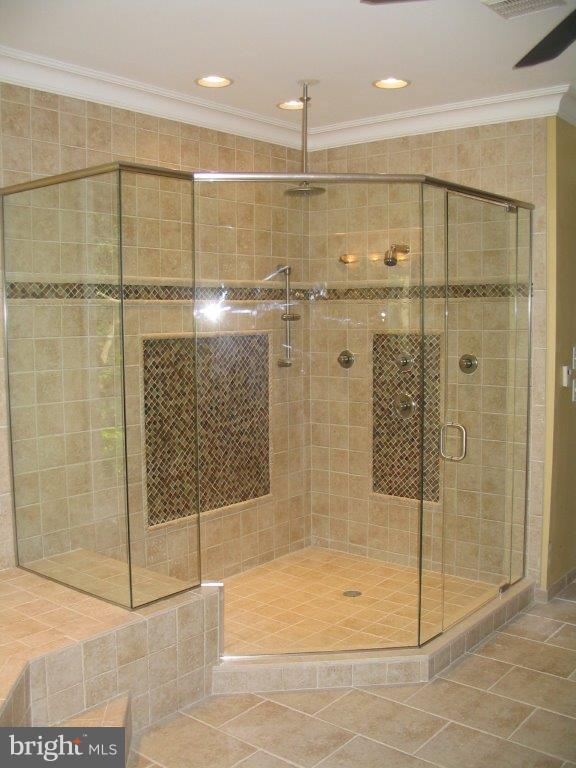 Example of optional shower - 317 BONHEUR AVE, GAMBRILLS