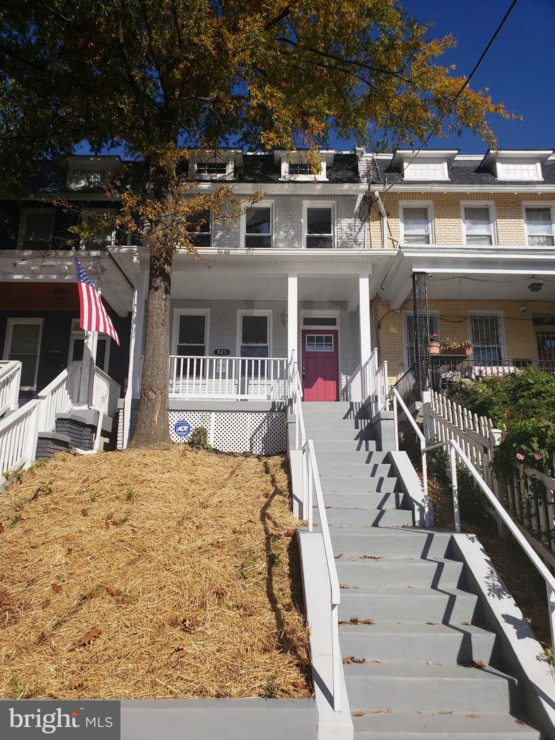Single Family for Sale at 823 Longfellow St NW Washington, District Of Columbia 20011 United States