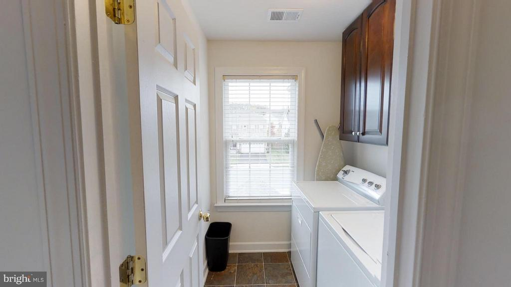 Second floor laundry room - 18534 QUANTICO GATEWAY DR, TRIANGLE