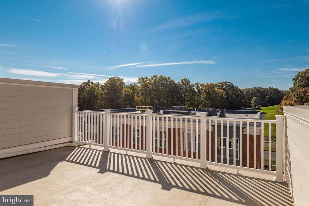 TERRACE BALCONY 4TH FLOOR - 11695 SUNRISE SQUARE PL #08, RESTON
