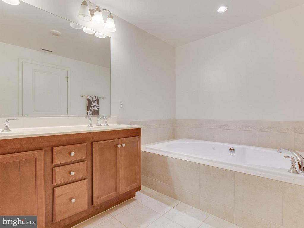 Relax in the jetted tub - 1830 FOUNTAIN DR #1008, RESTON