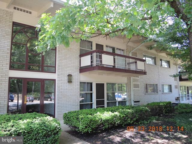 Exterior (Front) - 7705 DONNYBROOK CT #204, ANNANDALE