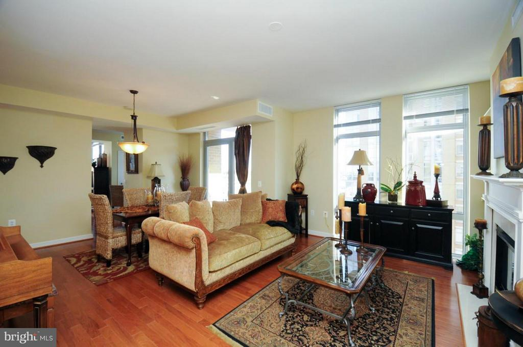Living Room - 11990 MARKET ST #1117, RESTON