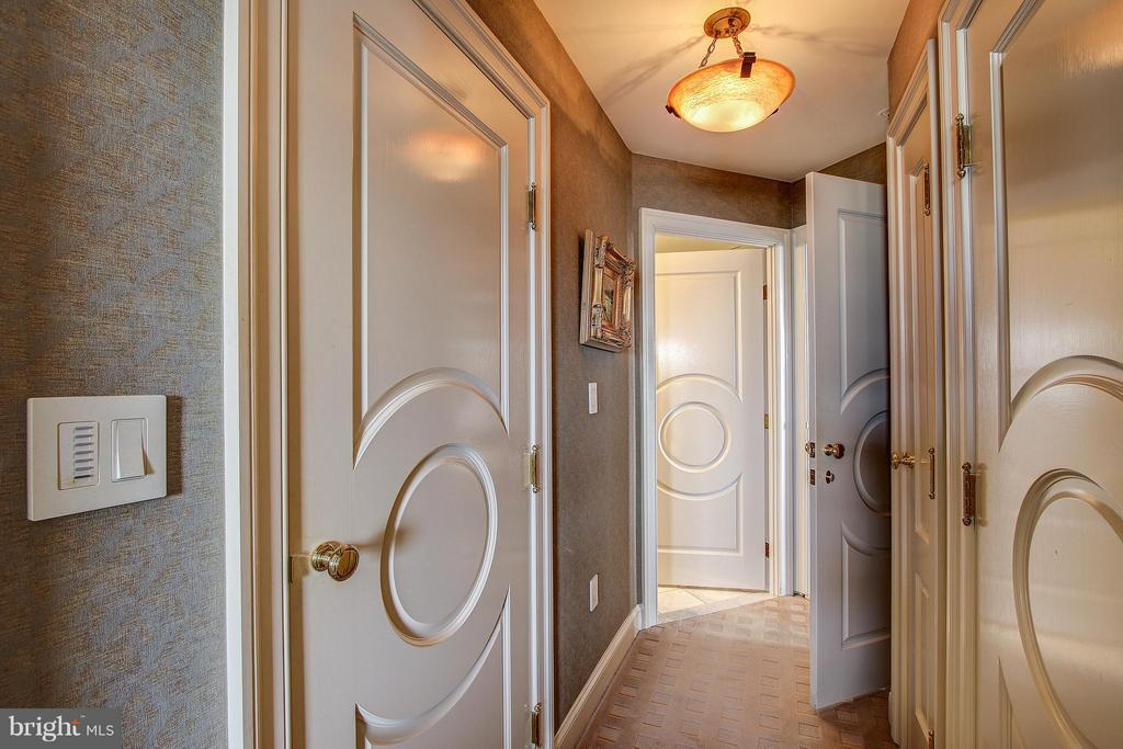 Gorgeous doors exemplify the attention to detail! - 11776 STRATFORD HOUSE PL #1402, RESTON