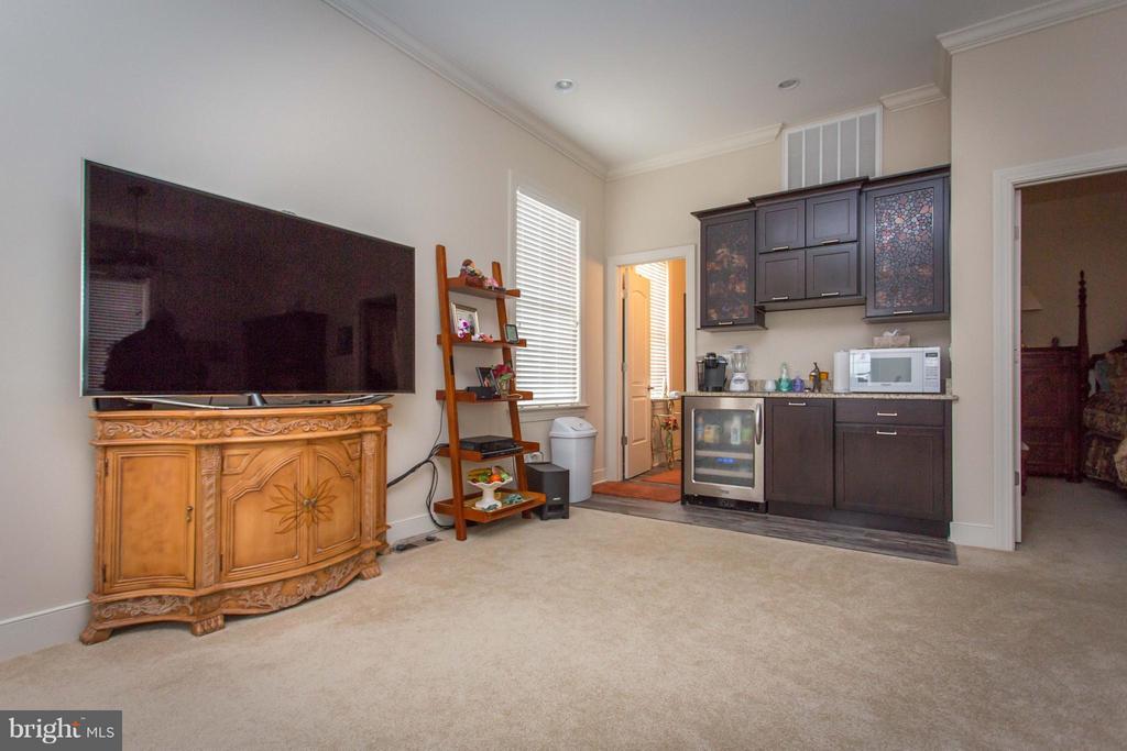 Living room/kitchenette in guest house - 1200 PRINCE EDWARD ST, FREDERICKSBURG