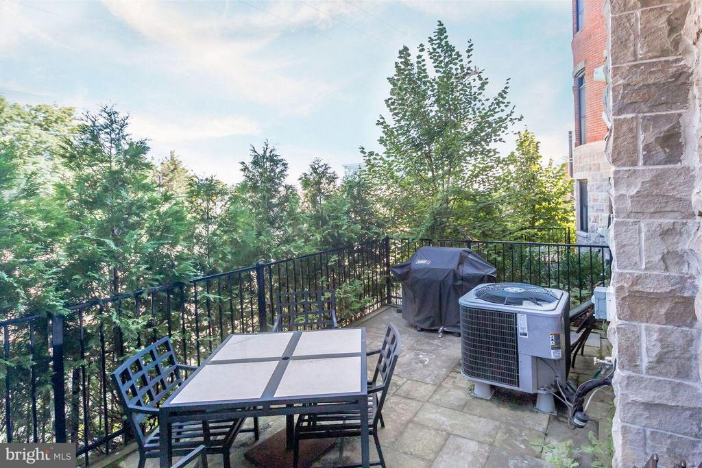 Beautifully Maintained Rear Patio for Entertaining - 2203 19TH CT N, ARLINGTON