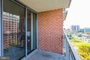 Balcony - 11710 OLD GEORGETOWN RD #1127, NORTH BETHESDA