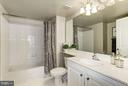 Master Bathroom - 11710 OLD GEORGETOWN RD #1127, NORTH BETHESDA