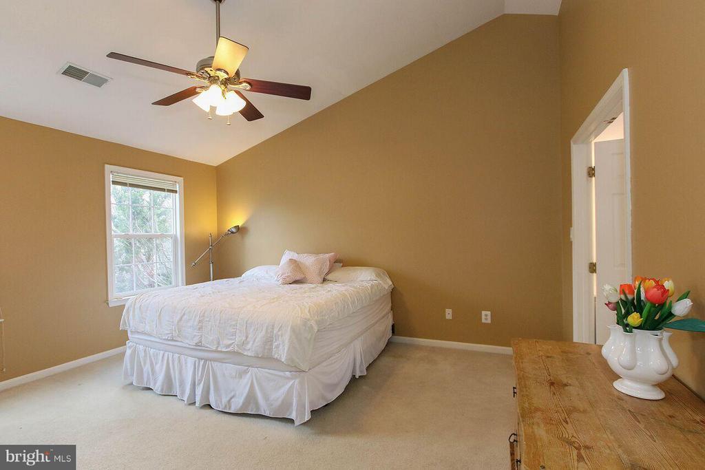 Master bedroom - Vaulted ceilings - 47745 ALLEGHENY CIR, STERLING
