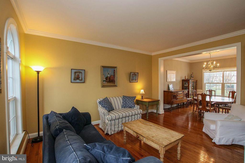 Living Room - 47745 ALLEGHENY CIR, STERLING