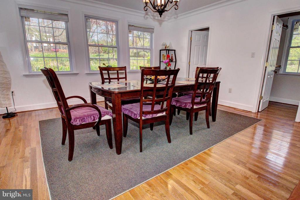 Dining Room - 10016 BRADDOCK RD, FAIRFAX