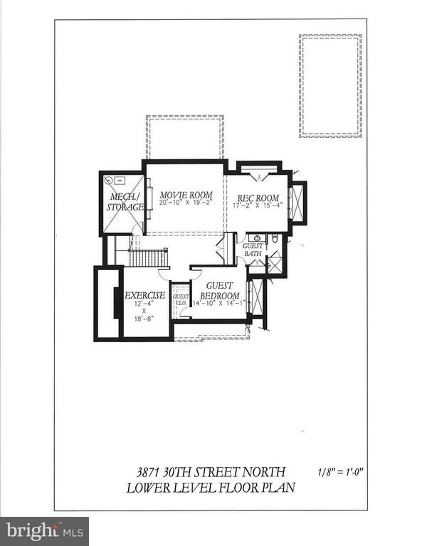 Lower Level - 3871 30TH ST N, ARLINGTON
