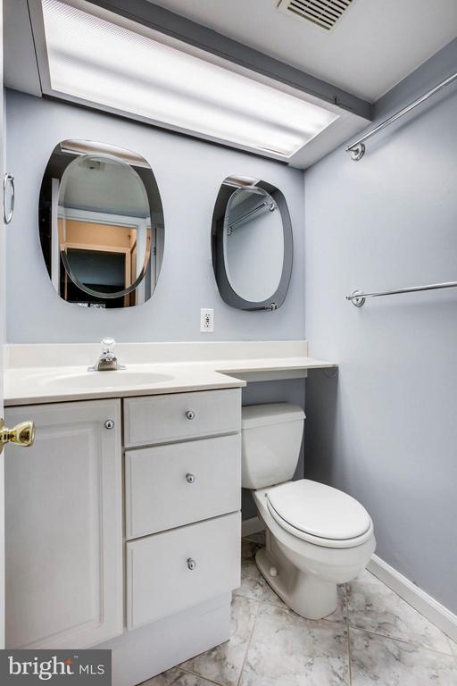 The Master Bedroom has a Private Half Bath - 5041 7TH RD S #102, ARLINGTON