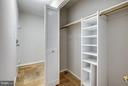 Large Hallway Coat Closet with Shelving - 5041 7TH RD S #102, ARLINGTON