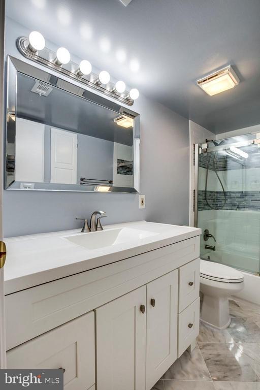 Updated Vanity and Lighting/Mirror in Bathroom - 5041 7TH RD S #102, ARLINGTON