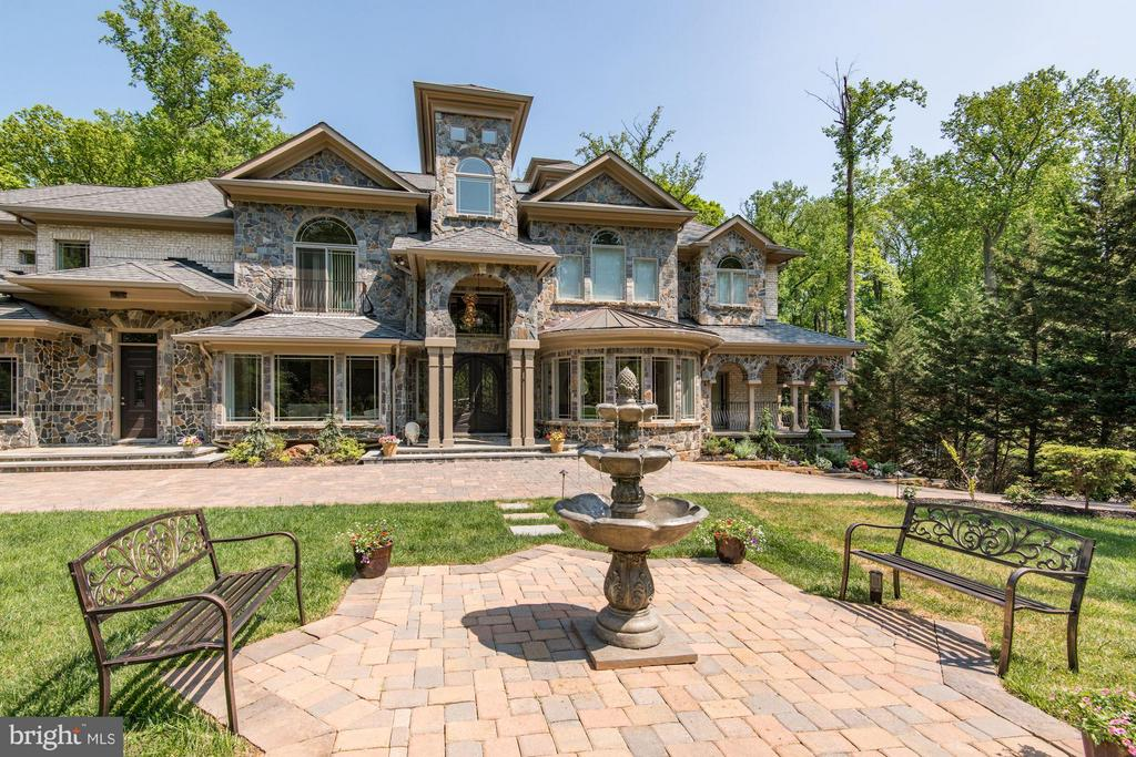 DAY VIEW  FOR THE FRONT - 8735 BROOK RD, MCLEAN