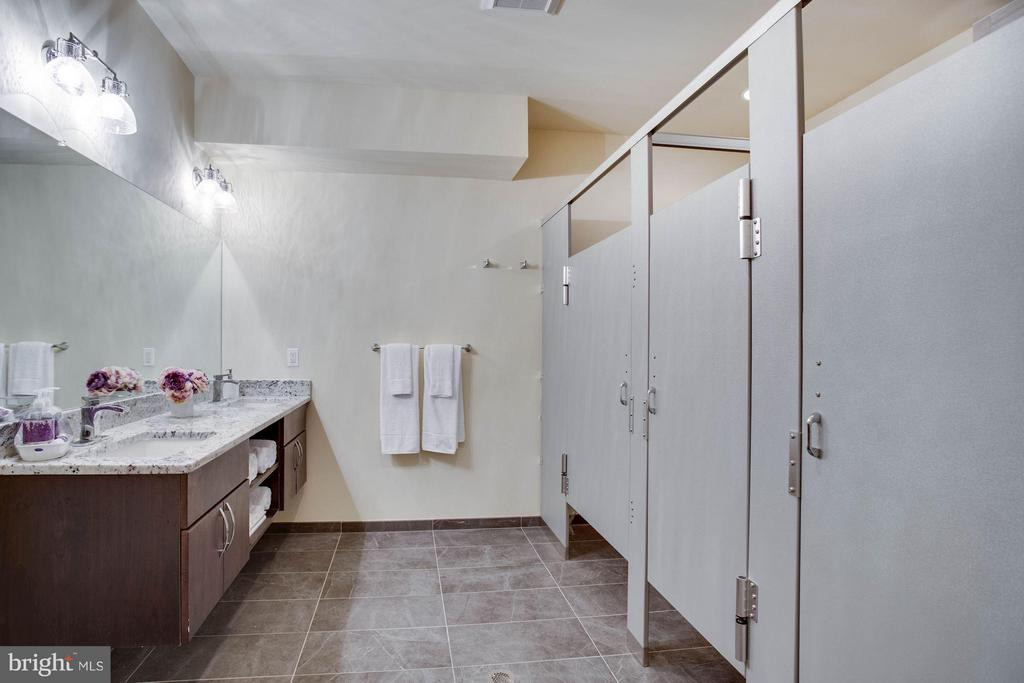 POOL SHOWERS AND BATHROOMS, CHANGING ROOM - 8735 BROOK RD, MCLEAN