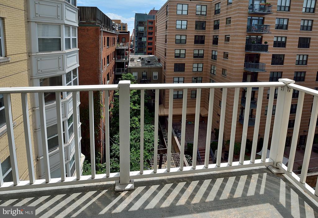 Master bedroom balcony - 1111 11TH ST NW #607, WASHINGTON