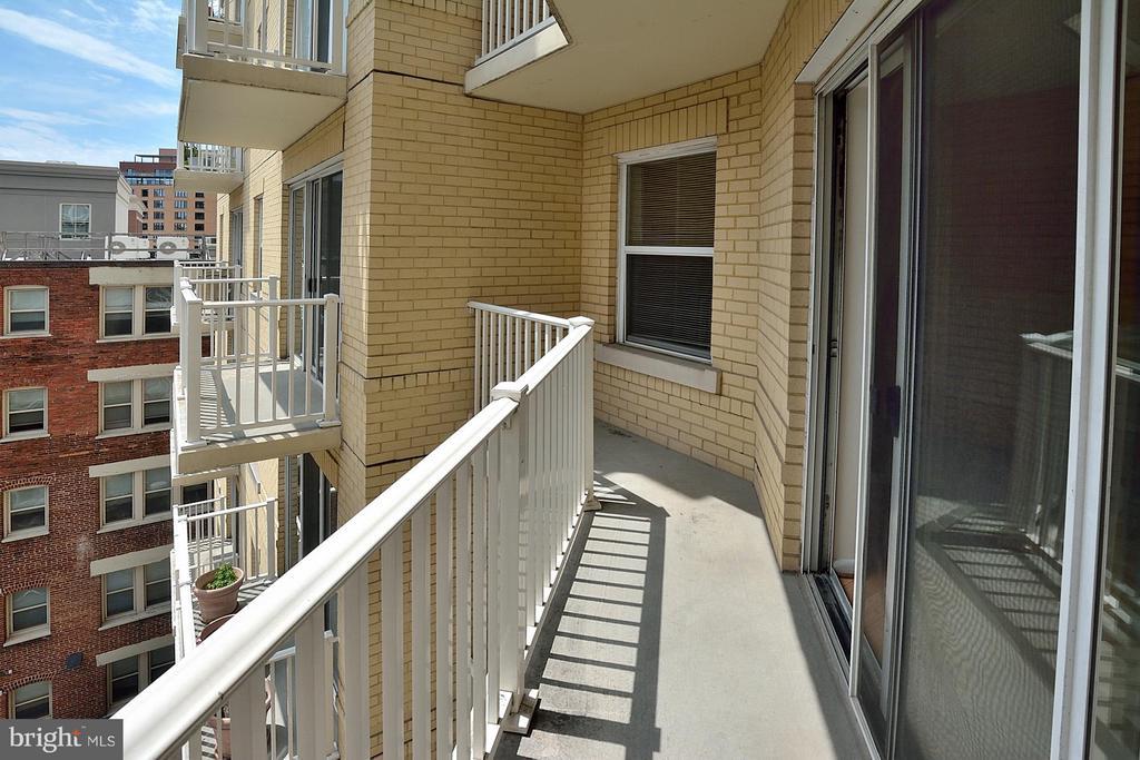 Balcony - 1111 11TH ST NW #607, WASHINGTON