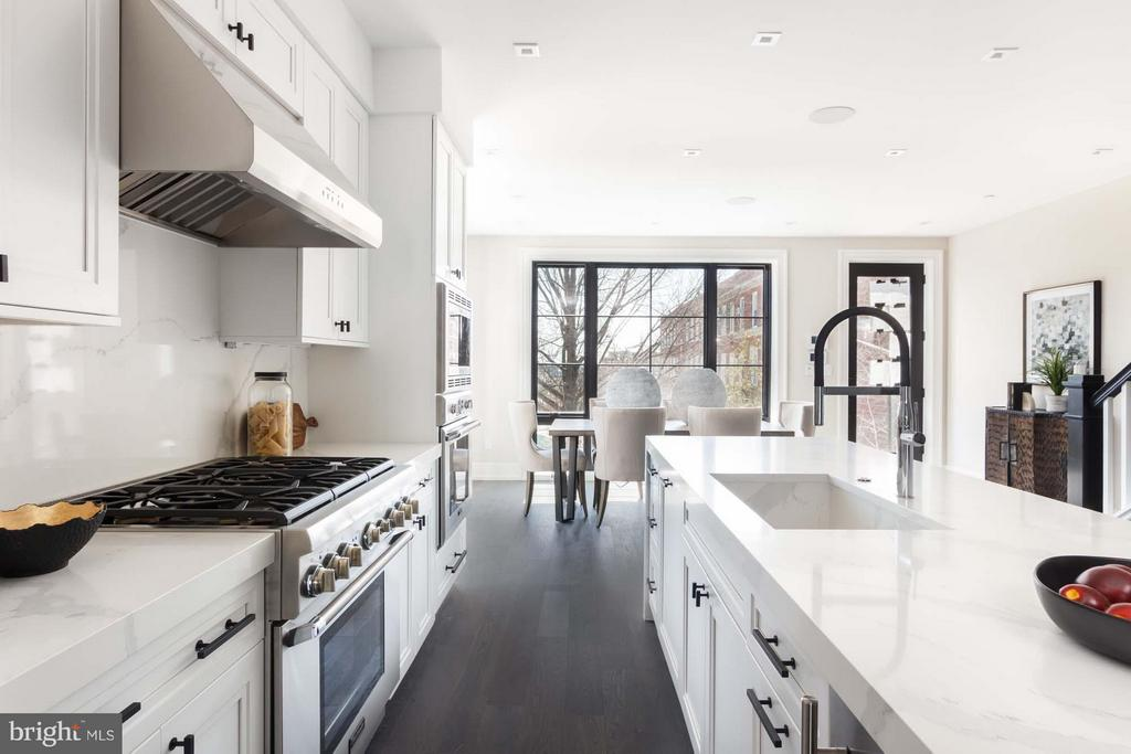 Kitchen - 727 EUCLID ST NW #UNIT A, WASHINGTON