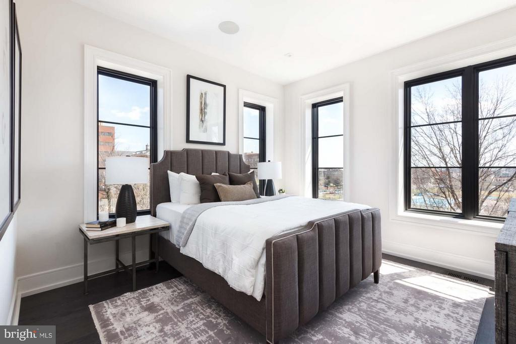Bedroom (Master) - 727 EUCLID ST NW #UNIT A, WASHINGTON