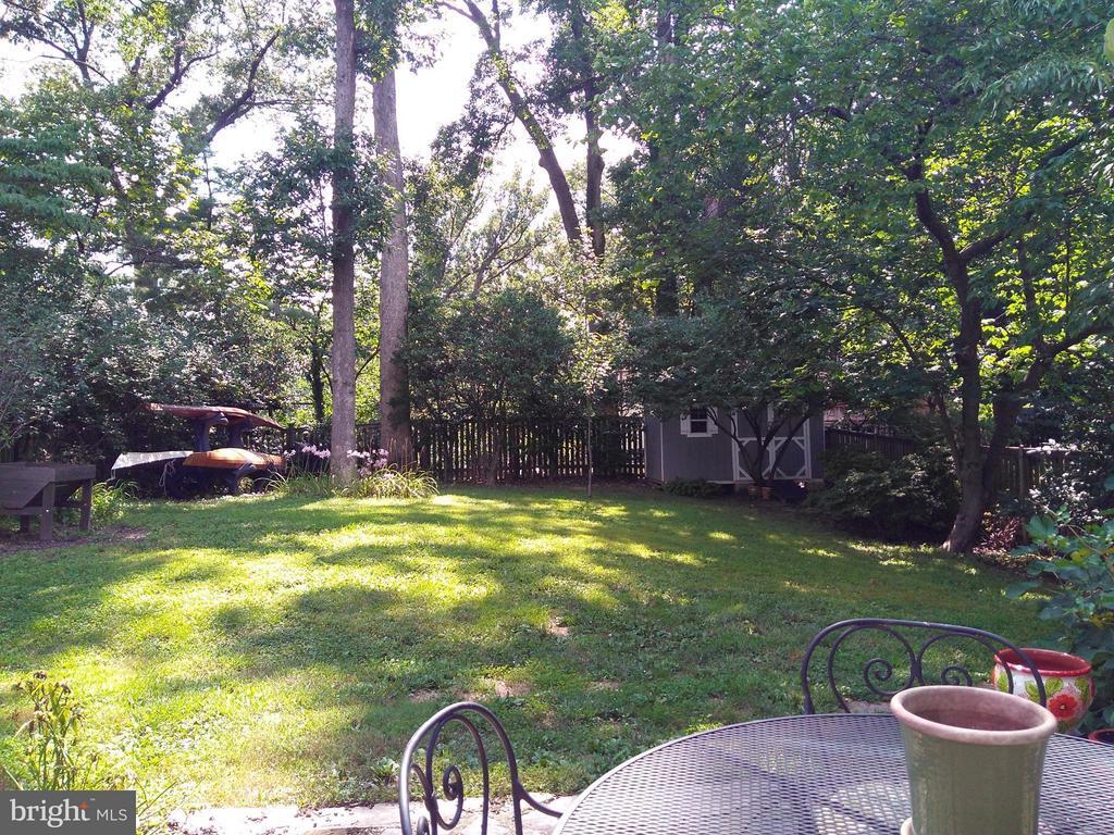 Large Level Backyard - 876 N KENSINGTON ST, ARLINGTON