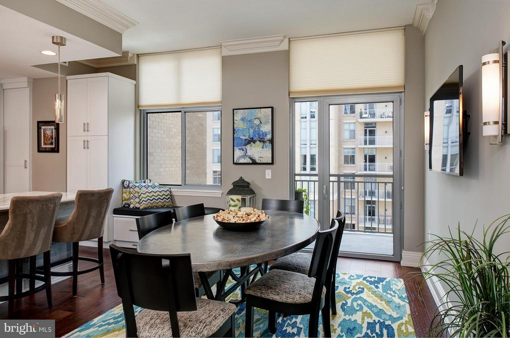 Balcony off Family Room/Dining Room - 11990 MARKET ST #1801, RESTON