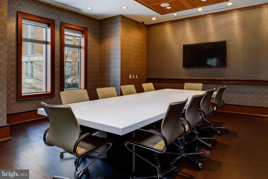 Community Conference Room - 11990 MARKET ST #1801, RESTON