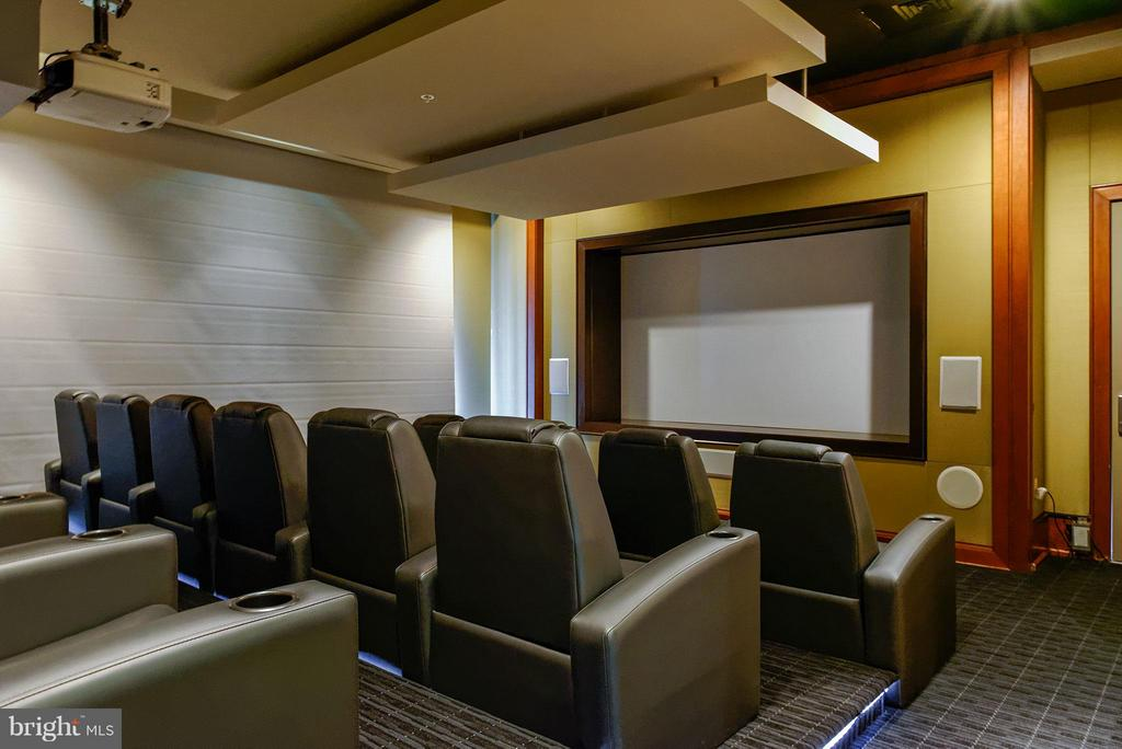 Community Private Theater - 11990 MARKET ST #1801, RESTON