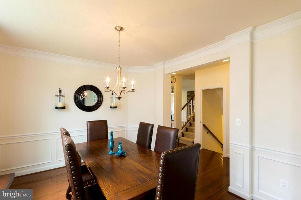 Dining Room - 15111 BARNES EDGE CT, WOODBRIDGE