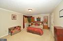 Expansive Master Bedroom on Main Level - 39 CONIFER CT, HARPERS FERRY