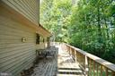 Sprawling Deck with Wooded Views - 39 CONIFER CT, HARPERS FERRY