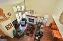 Upper Level Overlook to Living and Dining Rooms - 39 CONIFER CT, HARPERS FERRY