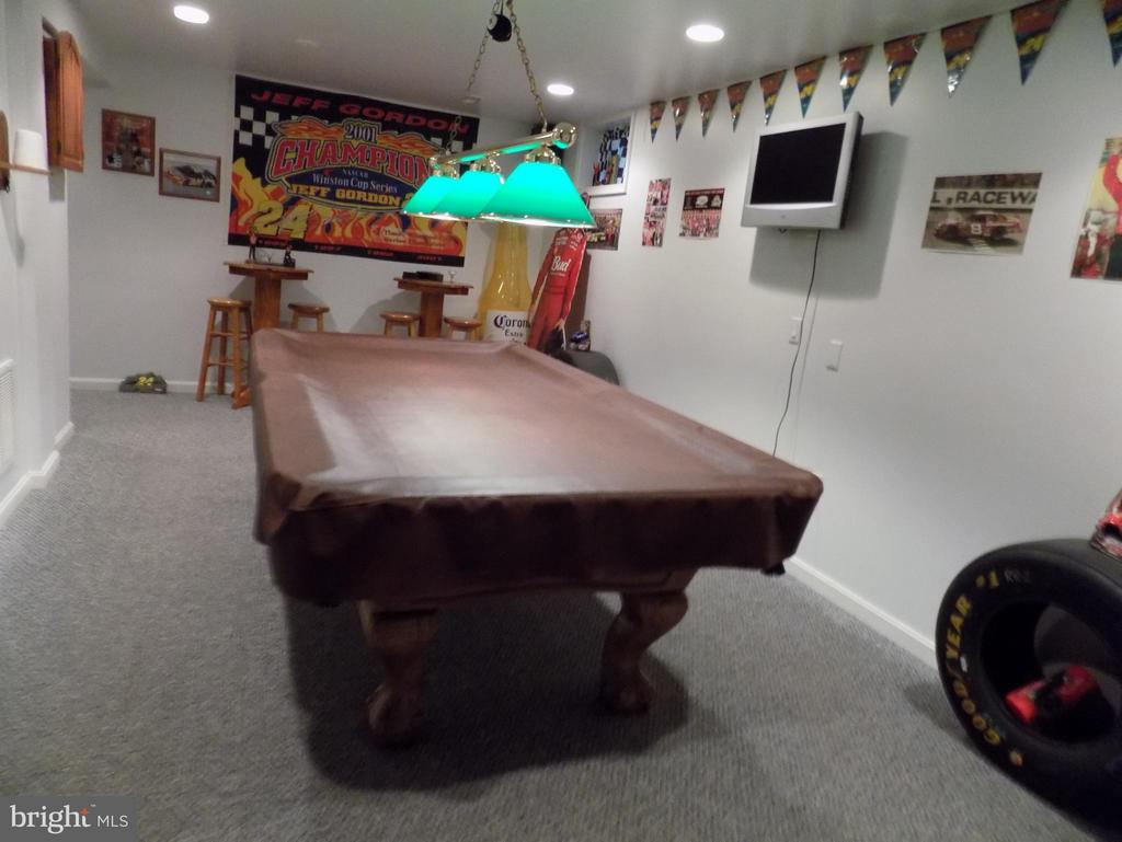 Play pool in the Basement - 10285 REDBUD RD, UNIONVILLE